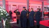 Trumna z ciałem zmarłego Kornela Morawieckiego wystawiona w Sejmie