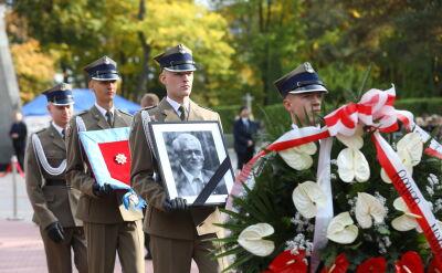 Uroczystości pogrzebowe Kornela Morawieckiego na Powązkach
