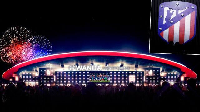 Atletico pokazało nowy dom. Zmienia też herb