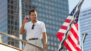 "Zwiastun filmu ""Wilk z Wall Street"""
