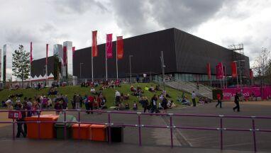 Skra zagra w hali olimpijskiej w Londynie.