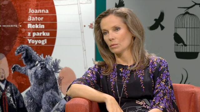 "Joanna Bator w ""Xięgarni"""