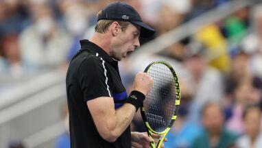 Kwalifikant pisze historię. Awansował do ćwierćfinału US Open