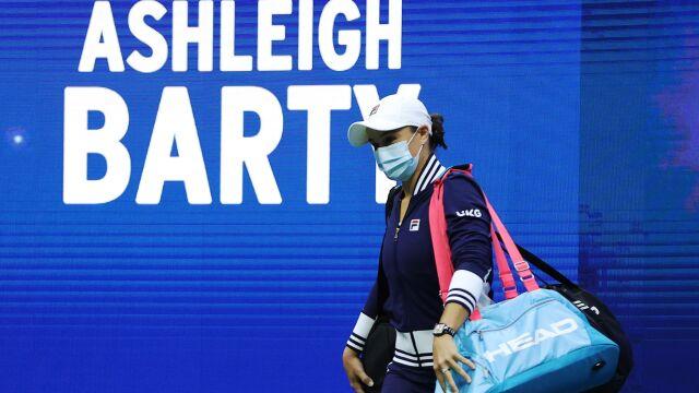 Ashleigh Barty może opuścić turniej WTA Finals