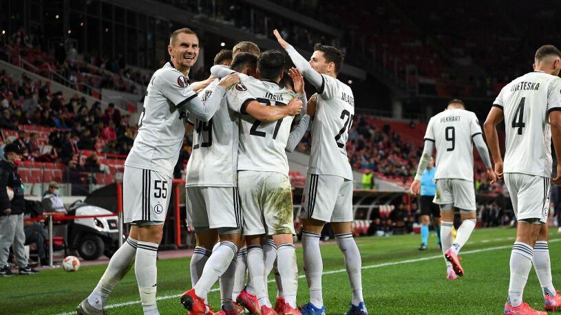 Mocne uderzenie w doliczonym czasie gry. Legia świetnie zaczęła Ligę Europy