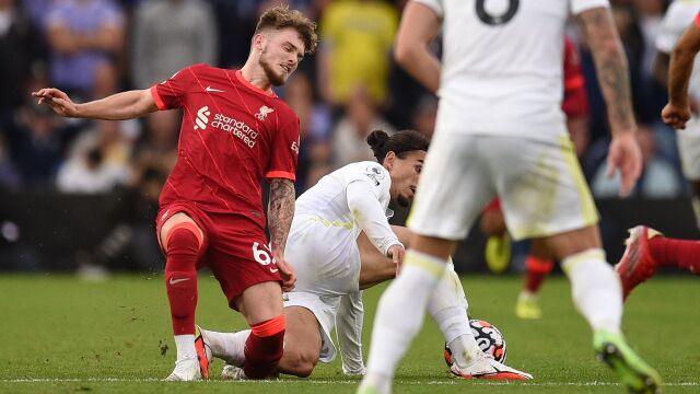 Groźny atak i kontuzja. Piłkarz Liverpoolu nie ma żalu do rywala