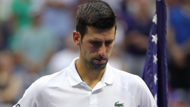 """Becker o przyczynach porażki Djokovicia. """"Było tego trochę za dużo"""""""