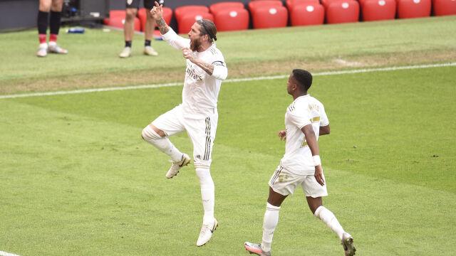 Znów skromnie, znów Ramos bohaterem. Real bliżej mistrzostwa