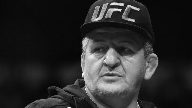 Ojciec mistrza UFC nie żyje. Zmarł wskutek komplikacji po zakażeniu koronawirusem