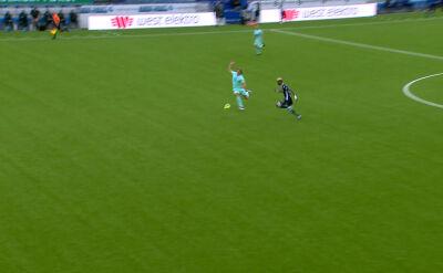 Liga norweska. Kristiansund - Molde 1:0 (gol Amahl Pellegrino)
