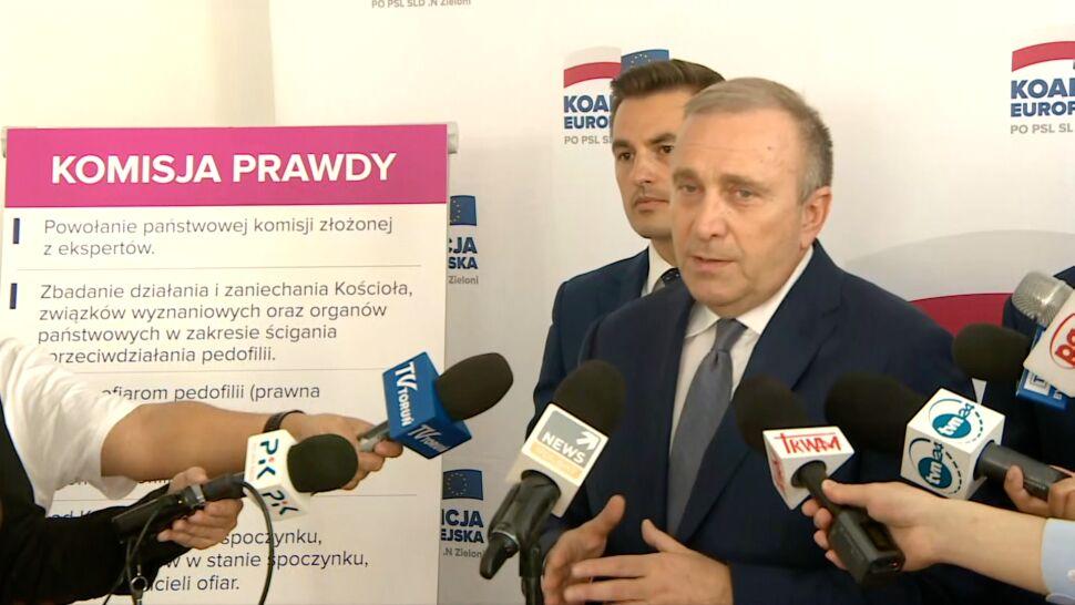 """PO chce """"komisji prawdy"""" w sprawie pedofilii. Schetyna: czekam na sygnał od Kaczyńskiego"""