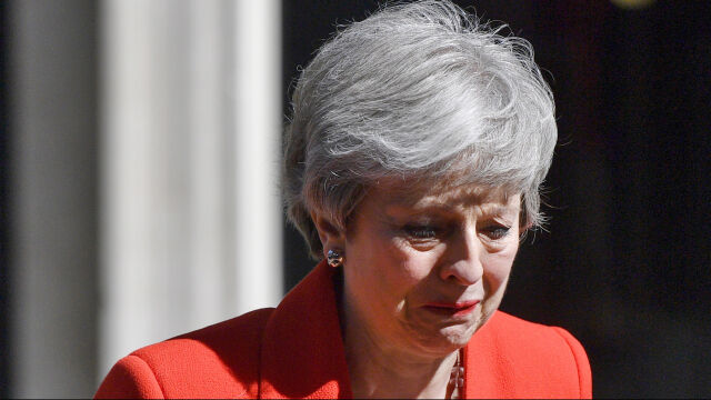 Theresa May rezygnuje