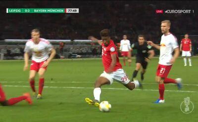 Finał Pucharu Niemiec: Coman podwyższył prowadzenie Bayernu