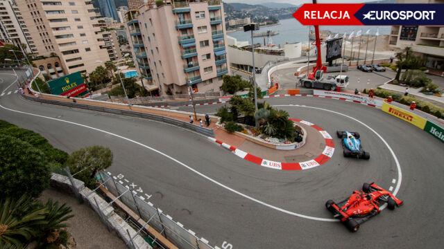 Kubica ostatni podczas drugiego treningu w Monako [RELACJA]