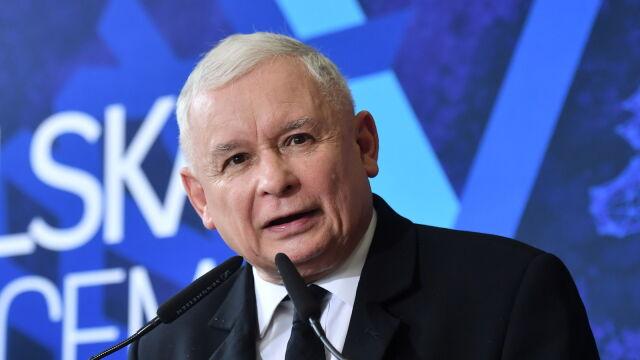 """Jarosław Kaczyński w Słupsku zarzucił stacji TVN """"wykreślenie słowa"""" z jego wypowiedzi"""
