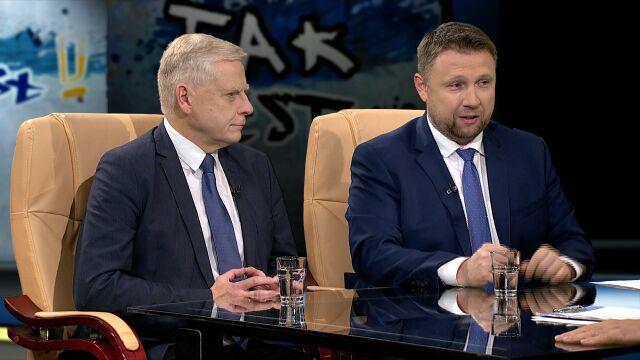 Aleksander Bobko i Marcin Kierwiński w Tak jest