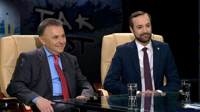 prof. Witold Orłowski i Marek Tatała w Tak Jest