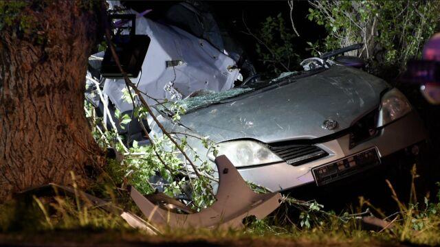 Ona miała 18 lat, on 19. Zginęli po uderzeniu autem w drzewo