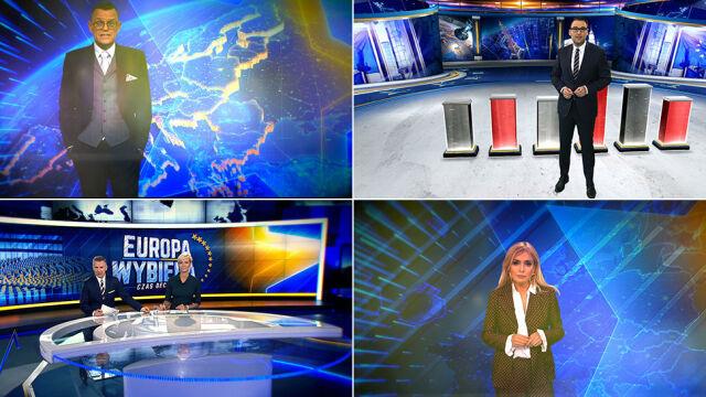 Pierwsze informacje i pierwsze sondaże. Wieczór wyborczy w TVN24 i tvn24.pl