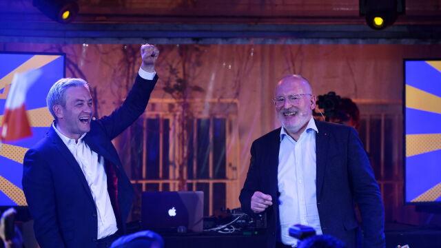 We wtorek odbyło się spotkanie przedwyborcze wiceszefa Komisji Europejskiej Fransa Timmermansa i partii Wiosna