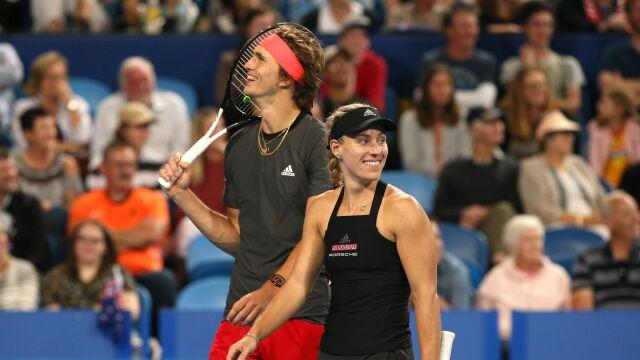 Zverev i Kerber chcą razem powalczyć o medal olimpijski w Tokio