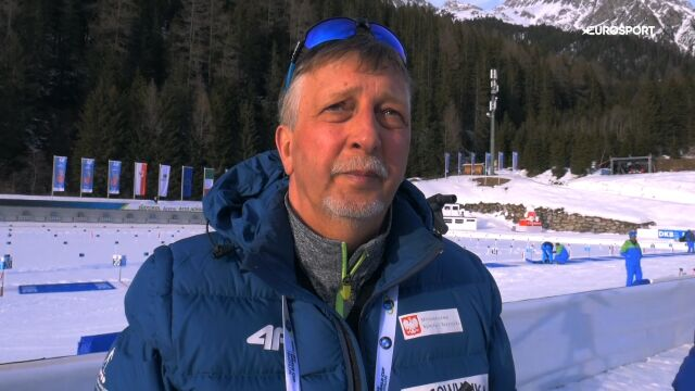 Trener Kołodziejczyk po sprincie w mistrzostwach świata w Anterselvie