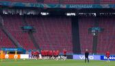 Trening Walii przed meczem z Danią w 1/8 finału Euro 2020