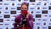 Vollering po wygraniu La Course by Le Tour de France