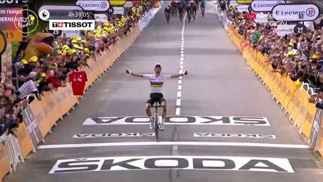 Alaphilippe wygrał 1. etap Tour de France