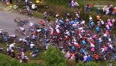 Ogromny karambol na trasie 1. etapu Tour de France