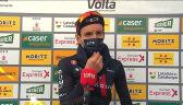 Yates po wygraniu 3. etapu Volta a Catalunya