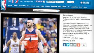 NBA wybrała najlepszych wolnych agentów. Gortat w czołówce klasyfikacji