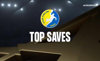 Najlepsze obrony z meczu Łomża VIVE Kielce - MOL-Pick Szeged