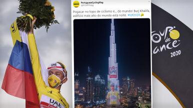 Wyraz uznania dla Pogacara na najwyższym budynku świata