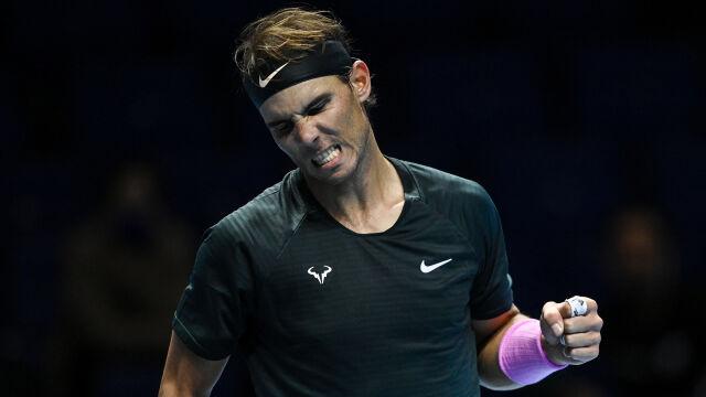 Nadal udanie rozpoczął Finały ATP. Ambitny cel na horyzoncie