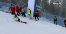 Gisin i Vlhova na prowadzeniu po 1. przejeździe niedzielnego slalomu w Levi