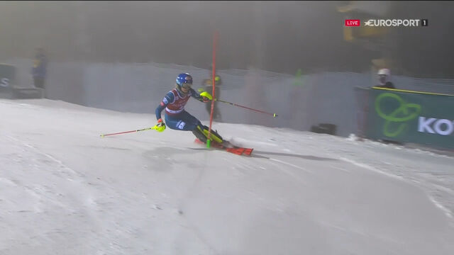 Shiffrin piąta w niedzielnym slalomie w Levi