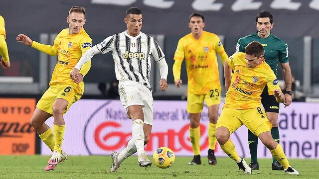 Ronaldo strzela, Buffon śrubuje rekord. Juventus pnie się w tabeli