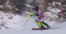 Noel liderem slalomu w Wengen po 1. przejeździe
