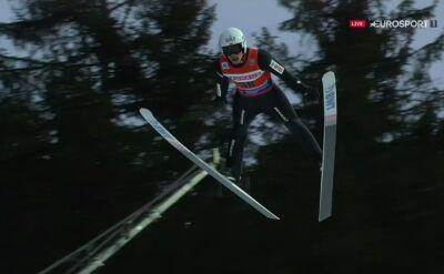 Skok Żyły z 1. serii sobotniego konkursu w Titisee-Neustadt