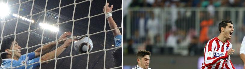 Piłkarz Realu jak Suarez na mundialu.