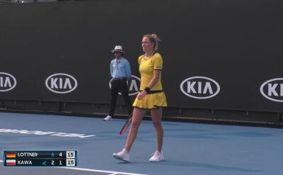 Kawa przegrała w pierwszej rundzie kwalifikacji do Australian Open