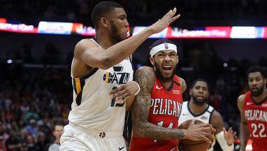 49 punktów Ingrama przerwało serię Utah Jazz