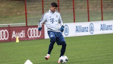 Lewandowski trenował z Bayernem.