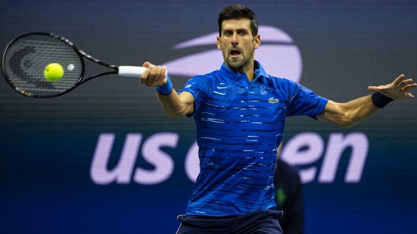 """Djoković zagra w US Open. """"Nie była to łatwa decyzja"""""""