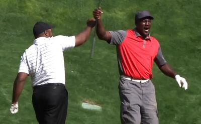 Michael Jordan bryluje na polu golfowym