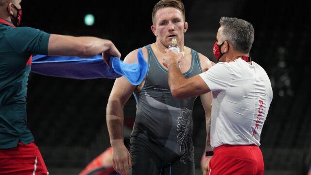 Przegrał walkę o finał. Polski zapaśnik cały czas z szansą na medal