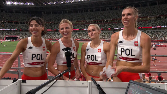 Odważna deklaracja Polek: w sobotę medal i rekord Polski