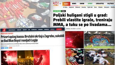 Zamieszki na ulicach Zagrzebia.