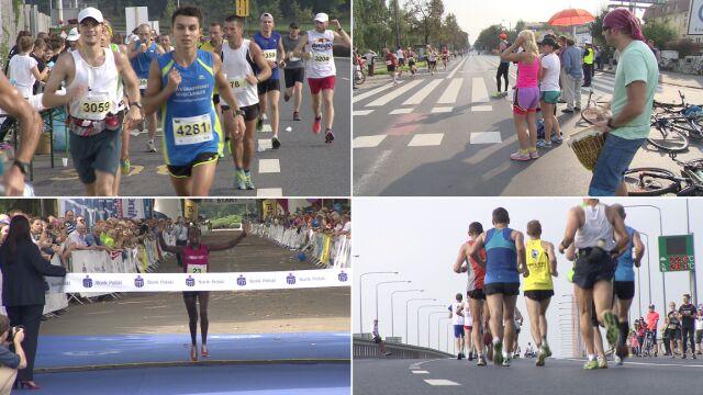 5 tysięcy biegaczy na starcie wrocławskiego maratonu. Wygrał Kenijczyk